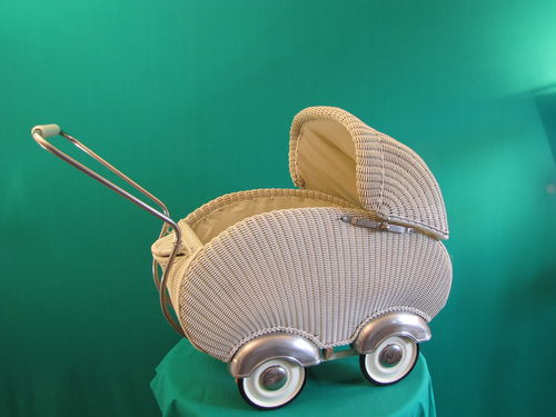 Basket doll carriage restoration and. Repair - Request for quotation